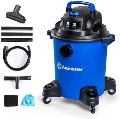 8 Vacmaster 3 Peak HP 5 Gallon Wet Dry Vacuum Cleaner